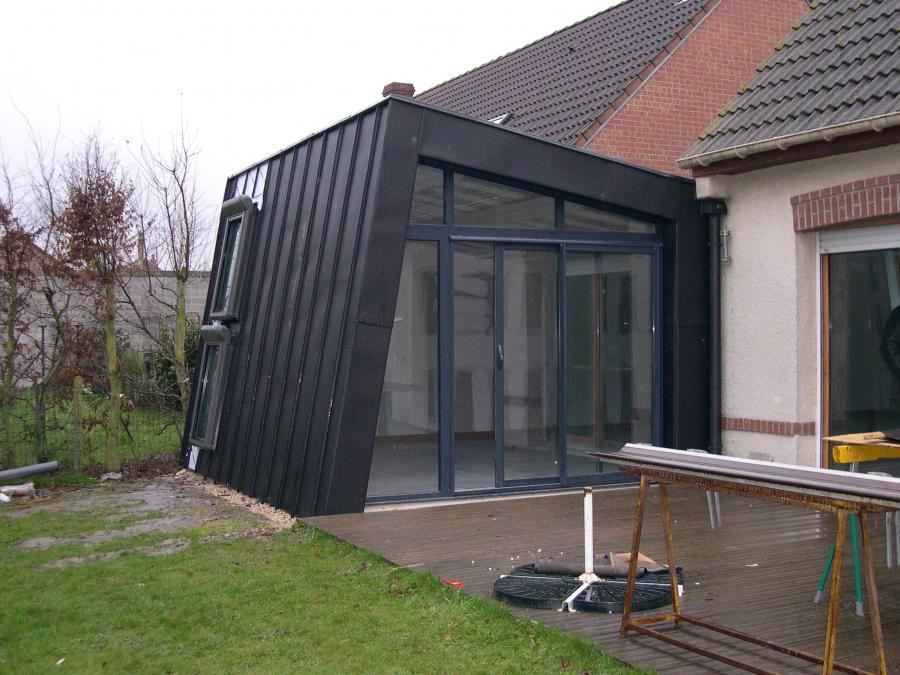 Charpente traditionnelle hazebrouck 59 toiture en bois for Extension maison 59